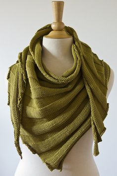 Groovy (DK and Aran Weight) Scarf Or Shawl By JumperCablesKnitting - Purchased Knitted Pattern - (ravelry)