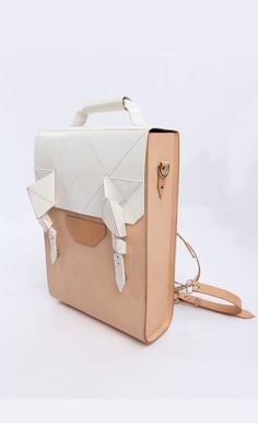 Leather Customisation Versatile Backpack | Dream's Code | NOT JUST A LABEL
