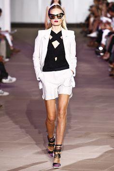 Prabal SS 2012. Love this black / white pantsuit