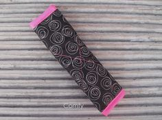 Seat Belt Cover  Roses / Hot Pink on reverse by Comfy Accessories