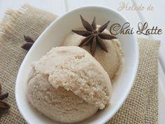 Helado de Chai Latte ~ No sin mi taper