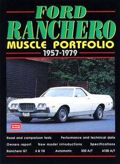 Ford Ranchero Muscle Portfolio 1957-1979 (Muscle Portfolio Series) - http://musclecarheaven.net/?product=ford-ranchero-muscle-portfolio-1957-1979-muscle-portfolio-series