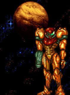 Samus - Super Metroid