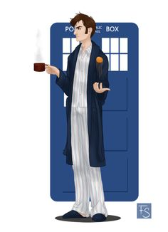 """The Doctor who saved the world while in his """" Jam Jams"""" ;)"""