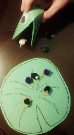 Early Childhood Education * Resource Blog: Barn Yard: Fine Motor Frog