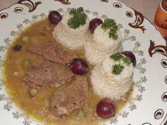 Druh receptu: Jedlá s mäsom - Page 17 of 56 - Mňamky-Recepty. Eastern European Recipes, Russian Recipes, Cooking Recipes, Cooking Ideas, Oatmeal, Beef, Chicken, Baking, Breakfast