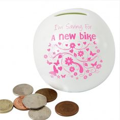Saving For... Money Box   Moneyboxes   Exclusively Personal Personalized Gifts For Her, Money Box, Gifts For Women, Personalised Gifts For Her, Money Bank