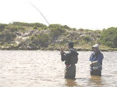 2 October 2005 My first ever Spotted Grunter and my first fish caught in SA waters! De Mond Nature Reserve