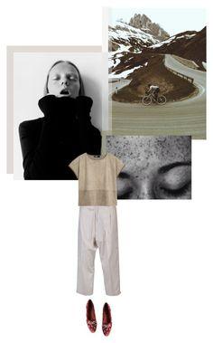 """+ Fringed Edges +"" by fl0rette ❤ liked on Polyvore featuring Yohji Yamamoto, MANGO and Dolce&Gabbana"