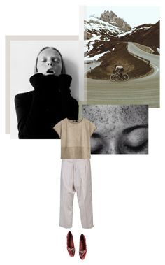 """+ Fringed Edges +"" by fl0rette ❤ liked on Polyvore featuring Yohji Yamamoto, MANGO and Dolce&Gabbana"