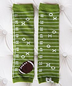 Are you ready for some football???  Leg Warmers