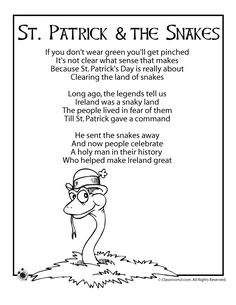 A bit of st. patrick's history in a brief poem