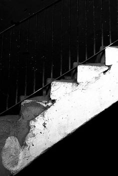 Black and White Photography stairs Instant by MiTierraEsTuTierra