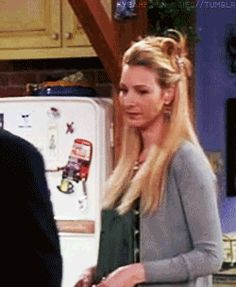 "That time when she realized Santa wasn't real | Phoebe Buffay's Funniest Moments On ""Friends"""