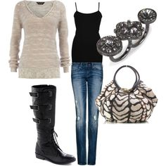 Fall Outfit....created by ashlee470.polyvore.com