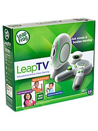 LeapTV: Get minds & bodies moving! Gaming just got smarter with the easy-to-play video gaming system that sets learning in motion.