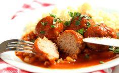 Mali i duzi je uwielbiają. Pulpety w sosie pomidorowym [PRZEPIS] Polish Recipes, Kfc, Beef, Ethnic Recipes, Food, Zero Waste, Cookies, Projects, Meat