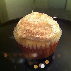 Not Entirely Perfect: Butterscotch Cocktail Cupcakes Vodka Cupcakes, Alcohol Infused Cupcakes, Alcoholic Cupcakes, Cocktail Cupcakes, Cake Vodka, Glitter Cupcakes, Yummy Cupcakes, Delicious Desserts, Dessert Recipes