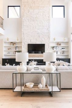 Bright neutral living room