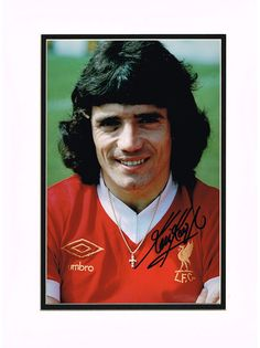 Kevin Keegan Autograph Signed Photo - Liverpool
