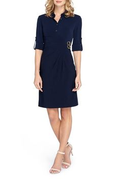 Tahari Stretch Shirtdress (Regular & Petite) available at #Nordstrom