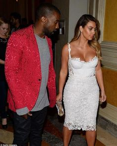 Kim Kardashian e Kanye West (Foto: Twitter/Reprodução)