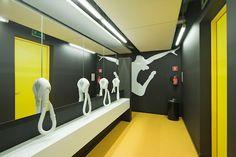 swimming pool and gym interior design