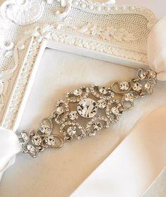 Bridal Ribbon Headband Gatsby Headband 1920s by LottieDaDesigns, $54.00