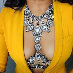Exquisite Vintage Look Crystal Body Jewelry-Necklaces-Look Love Lust,  https://www.looklovelust.com/products/exquisite-vintage-look-crystal-body-chains