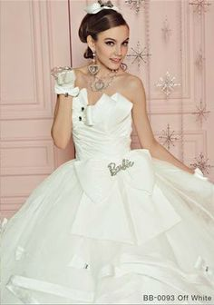 BArbie Bridal wear