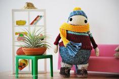 Karl Toffeln amigurumi crochet pattern by De Estraperlo