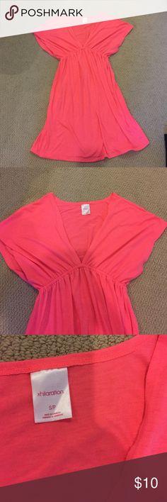 Target xhiliration coverup/dress Target xhiliration coverup/dress - small - excellent condition - bright pink Xhilaration Dresses Mini