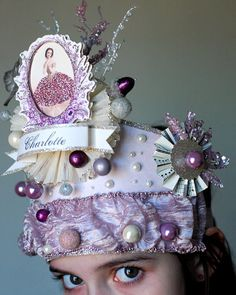 LAVENDER FAIRY Crown by Joosycardco on Etsy, $48.00