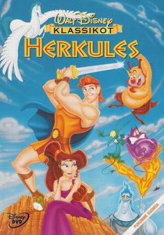 Hercules: In this Disney movie, He's Just a Big Ol' Loveable Hunk Hercules. Walt Disney Feature Animation had decided in the late Disney Films, Disney Dvd, Best Disney Movies, Great Movies, Classic Disney Movies, Disney Movie Posters, Disney Characters, Cartoon Movies, Hd Movies
