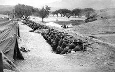 soldados al mando del General Pershing en la Expedición Punitiva de 1916 que nunca logro atrapar a Pancho Villa