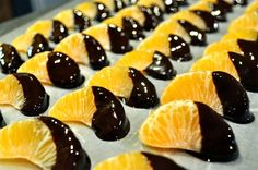 Frozen Chocolate Orange Bites | Fed and Fit. Great to eat either as a full snack or a small frozen treat throughout the day.