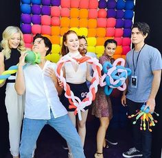 LPR + Cole Sprouse, Madelaine Petsch, Luke Perry, Camila Mendes + K.J. Apa