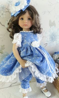 """Sold in the UK, handmade clothes to fit Little Darling 13"""" Doll - please find me on facebook as Sally Channon."""