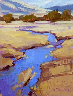 David Mensing Fine Art This artist is one of my biggest inspirations! Impressionist Landscape, Modern Impressionism, Landscape Art, Landscape Paintings, Painting Inspiration, Art Inspo, Paintings I Love, Contemporary Paintings, Art Pictures