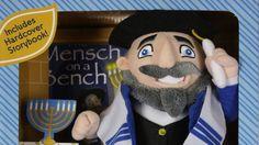 Mensch on a Bench, Jewish version of Elf on a Shelf!