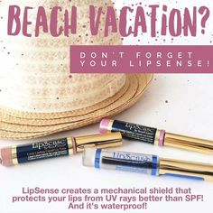 Lipsense is perfect for your summer and beach vacations