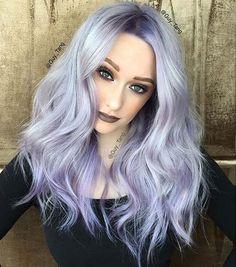 Lavender Purple Hair