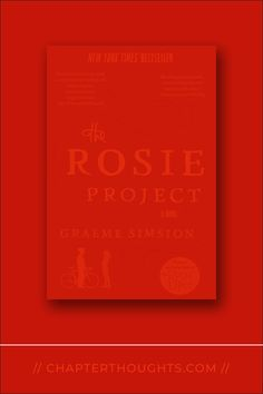 The Rosie Project // Graeme Simsion · Don Tillman spends a good deal of his time planning, crafting, researching, and testing his plan. A plan for not merely making a relationship work but finding the type of person and the love of your life. The Rosie Project, Something Like You, Fear Of Falling, Making A Relationship Work, Finding Happiness, Make You Cry, Love Your Life, Romance Books, Just Love