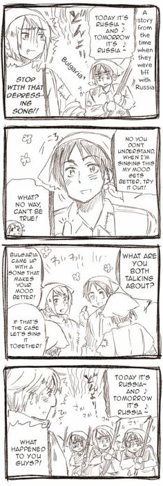 Hetalia Christmas event 2011. Romania, Bulgaria, and I think Lithuania...OMG I HAVEN'T LAUGHED SO HARD BEFORE!