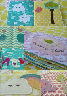 Baby's first fabric book/ baby's quiet/soft book by nenimav, €31.00