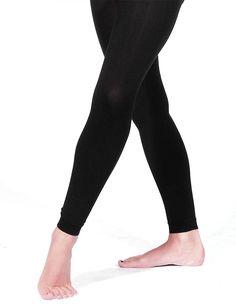 7a9431e2e23bd Black matt footless dance tights. Papillon Microfibre Tights PA6011 Footless  Tights, Back To School