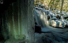 Garwin Falls in Wilton, New Hampshire courtesy Chris Georgia. #waterfall