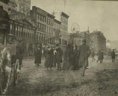 34th and Broadway pre 1902.....before Macy's from FB, Hell's Kitchen Generation