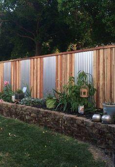 Superb Cinder Block Furniture #5: Cinder Block Fence Walls