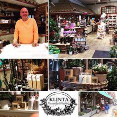 Klintaturnen börjar gå mot sitt slut och dagens första besök var hos Kenneth på stora Vildbuketten i centrala Borås där Klintas produkter vackert blandas med blommor och grönt genom hela härligheten. Tummen upp!
